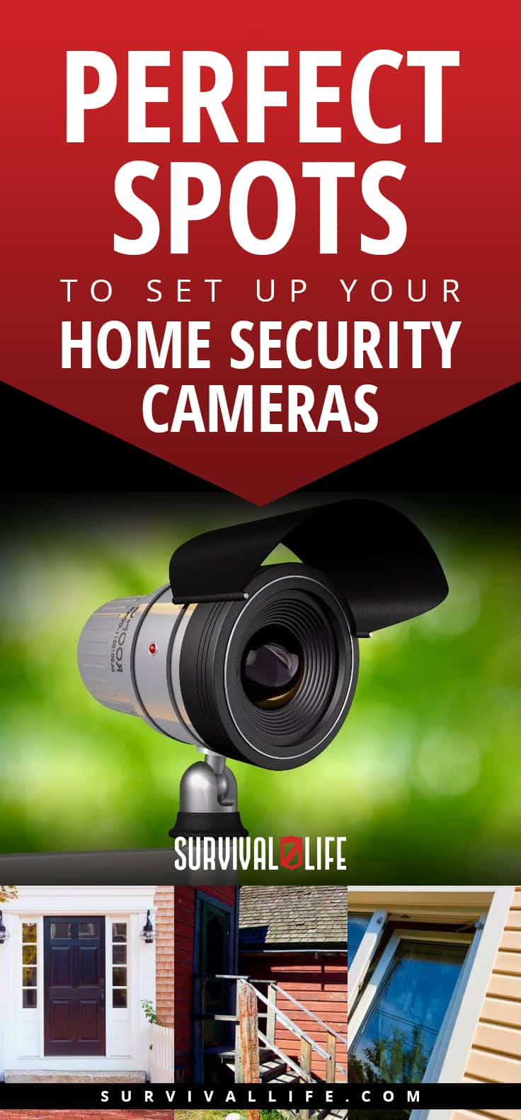 Home Security Cameras | Perfect Spots To Set Up Your Home Security Cameras