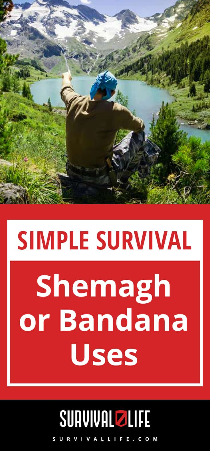 Shemagh or Bandana Uses   Simple Survival
