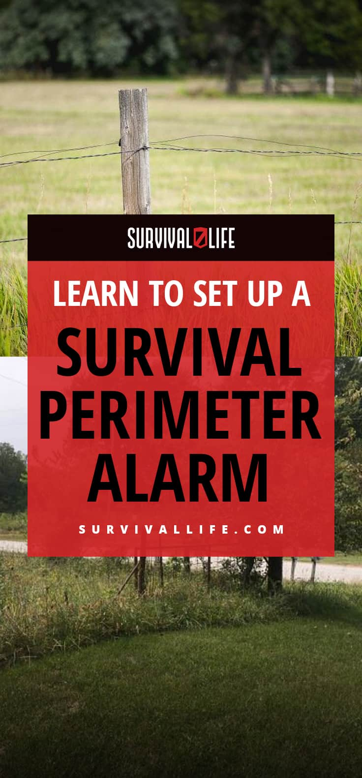 Infographic | Learn To Set Up A Survival Perimeter Alarm | Survival Perimeter Security