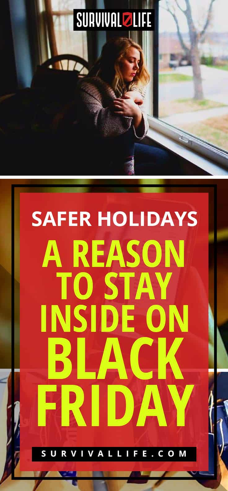 Black Friday | Safer Holidays | A Reason To Stay Inside on Black Friday
