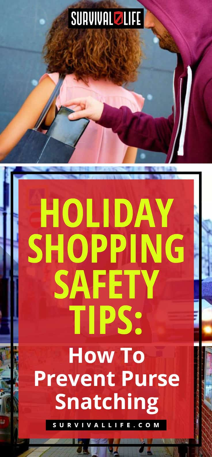 Holiday Shopping Safety Tips: How To Prevent Purse Snatching | holiday safety topics
