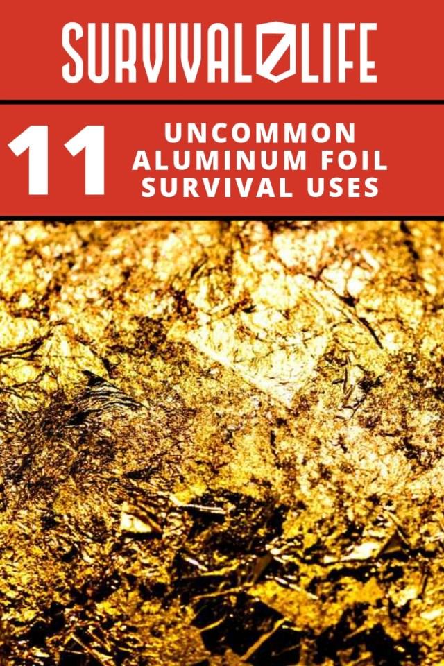 Placard   Uncommon Aluminum Foil Survival Uses