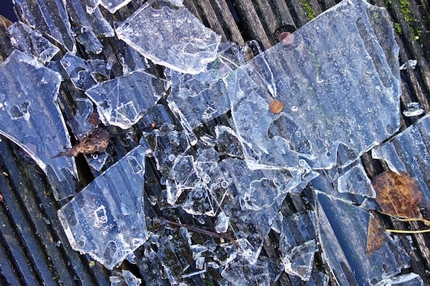 How to Pick Up Broken Glass   Old School Survival Skills You Should Know