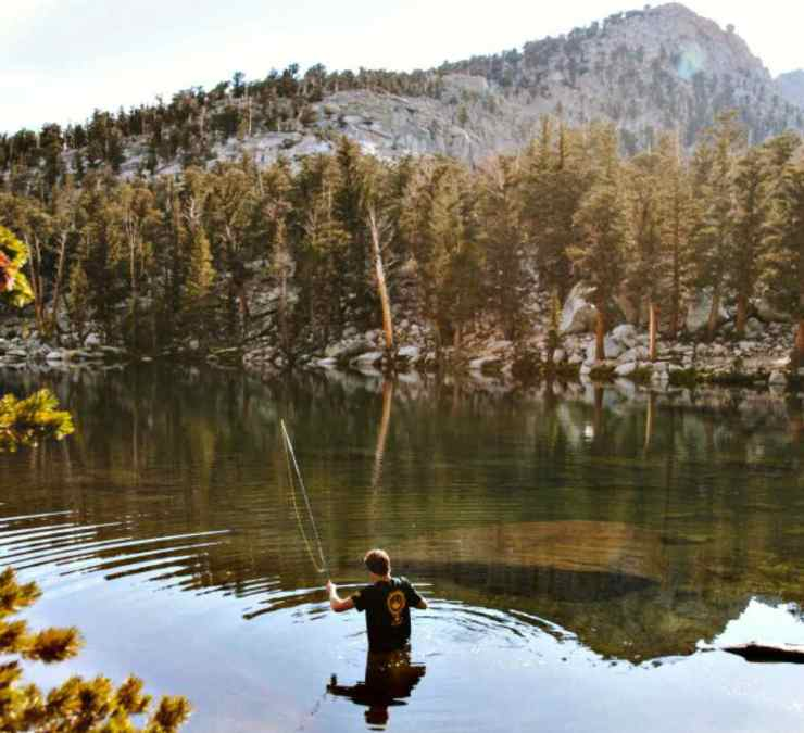 Man fishing to survive | Things You Need to Live Off the Grid