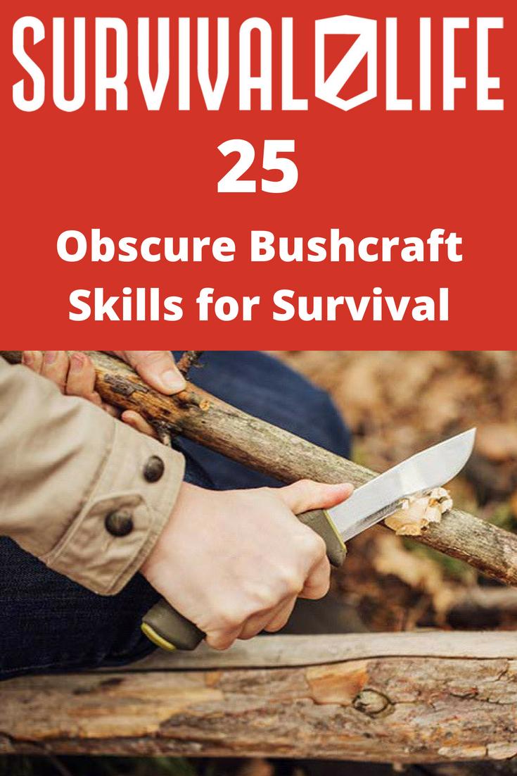 Placard | Bushcraft skills| Obscure Bushcraft Skills For Survival