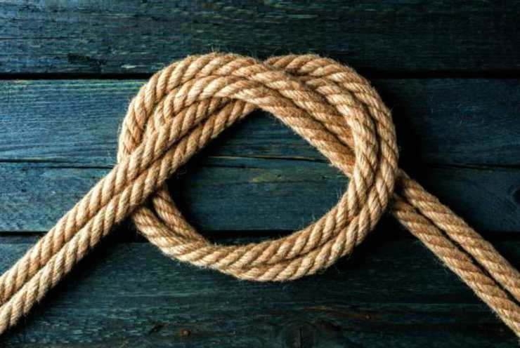 Basic knot | Obscure Bushcraft Skills For Survival