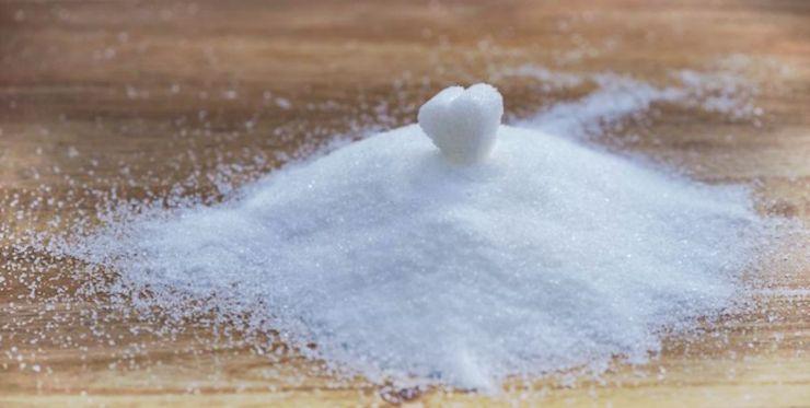 White heart shape sugar   How To Make Civil War Hoe Cakes