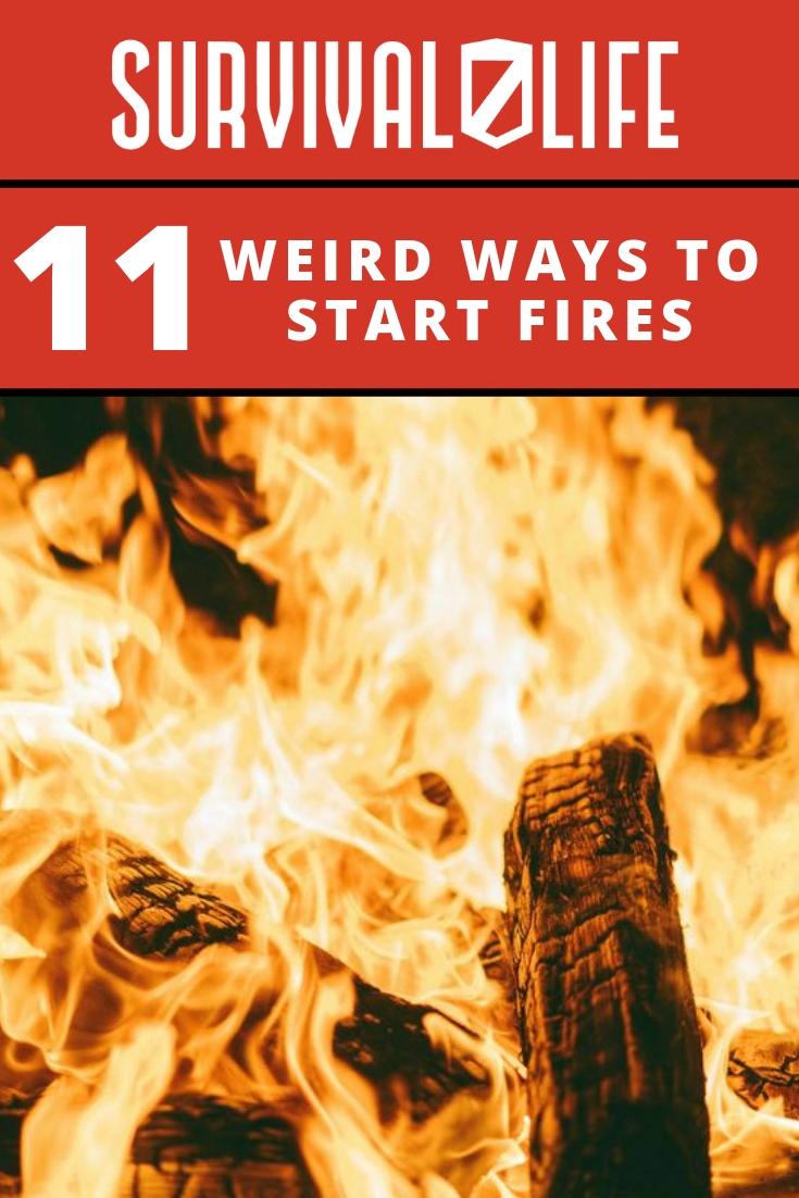 Weird Ways to Start Fires | fire building techniques
