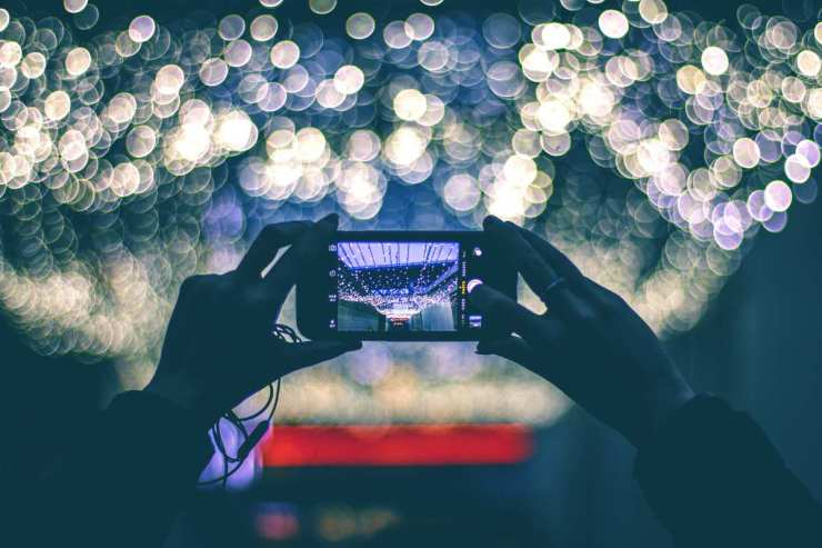 Capturing lights with smartphone | Proven DIY Home Security Tips To Protect Your Family