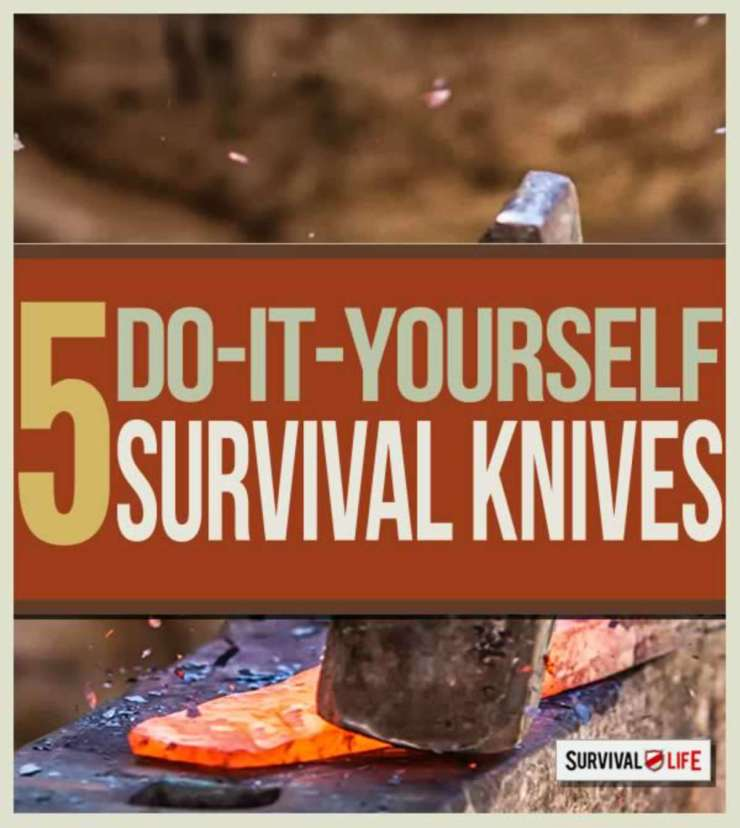 "DIY Survival Knives | ""Old World"" Primitive Survival Skills You'll WISH You Knew Before SHTF"
