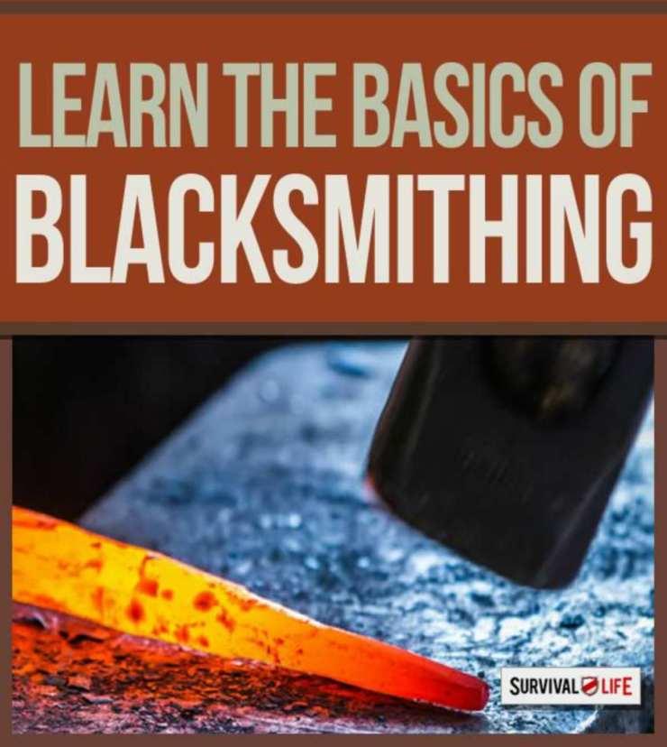 "Basic of blacksmithing | ""Old World"" Primitive Survival Skills You'll WISH You Knew Before SHTF"