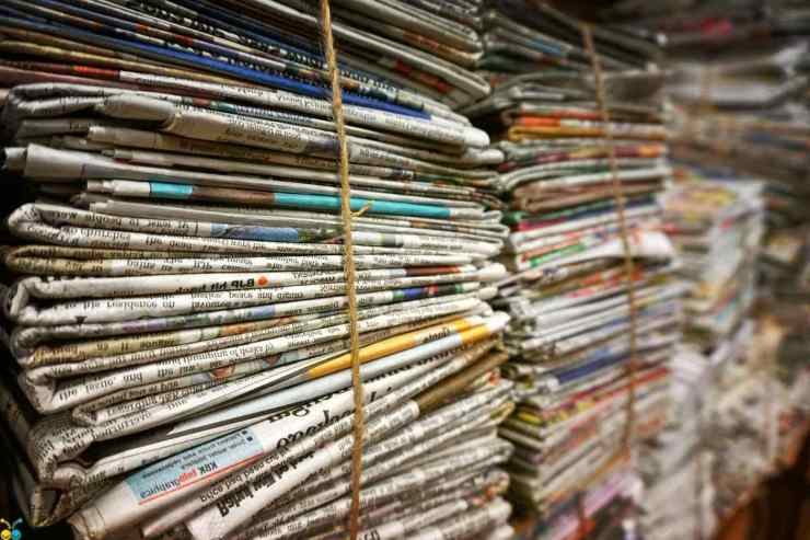 Stack of newspaper | Homeless Survival Tips | How To Survive On The Streets