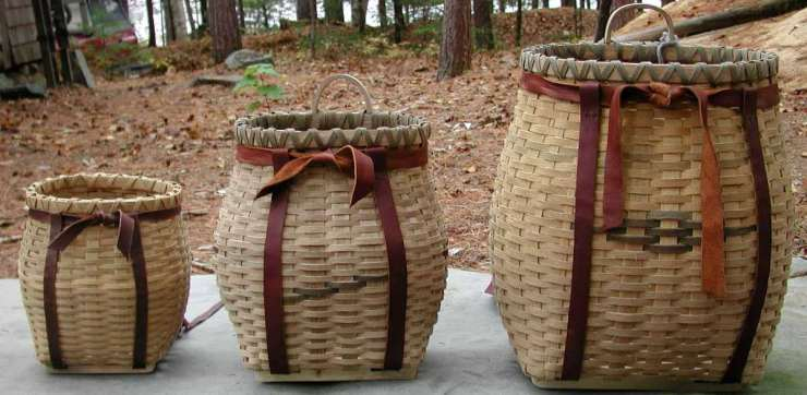 "Wooden Basket | ""Old World"" Primitive Survival Skills You'll WISH You Knew Before SHTF"