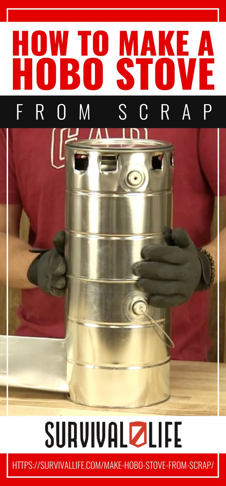 Placard | [Video Quick Tip] How To Make A Hobo Stove From Scrap