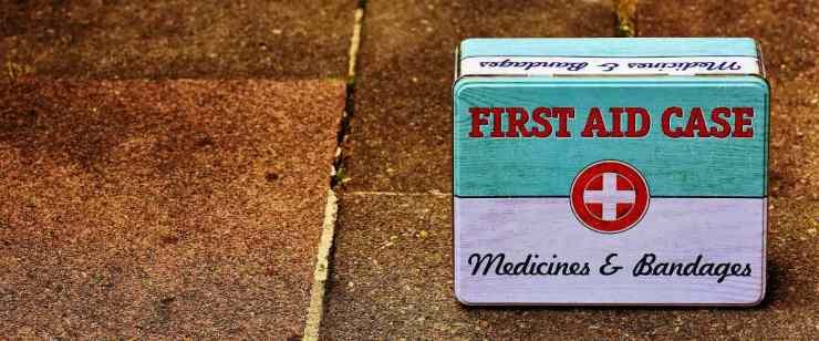 First aid kit | Building A Bug Out Bag