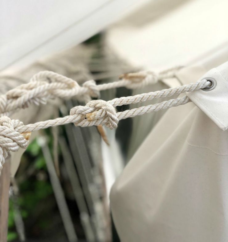 Tent rope | How To Build An Overnight Bushcraft Camp