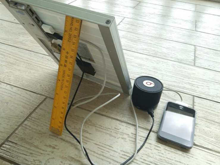 Mount the Remaining Devices | DIY Solar-Powered Cellphone Charger | diy solar-powered | solar power system