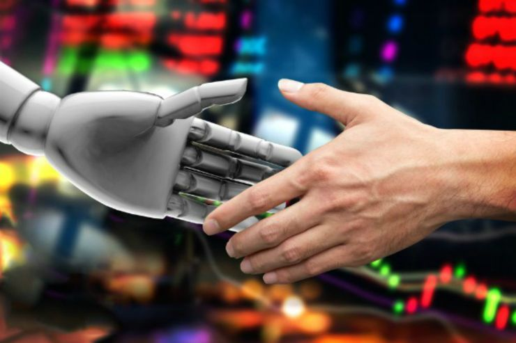 Robot and human handshake | Artificial Intelligence Takeover | How Likely It Is And How To Prepare