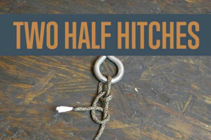 The-Two-Half-Hitches | king cobra knot paracord