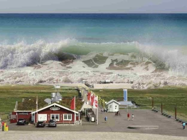 Tsunami seaquake   Global Catastrophes To Prepare For NOW
