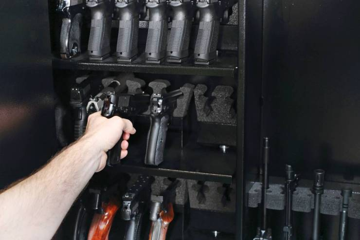 Wardrobe for weapons safe storage of guns | Top Survival Skills | Learn Now, Survive Later