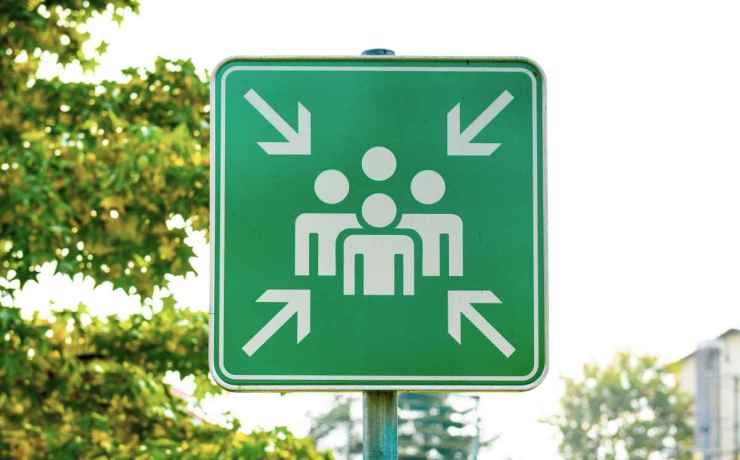 Signage in the Street | Tips To Stay Safe In A Crowd Or Riot