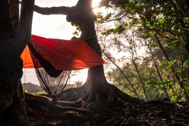 hammock-bug-net-rain-tarp-attached Camping| tent