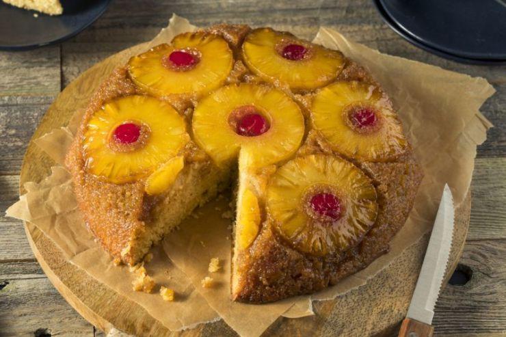 sweet-homemade-pineapple-upside-down-cake | upside down cake