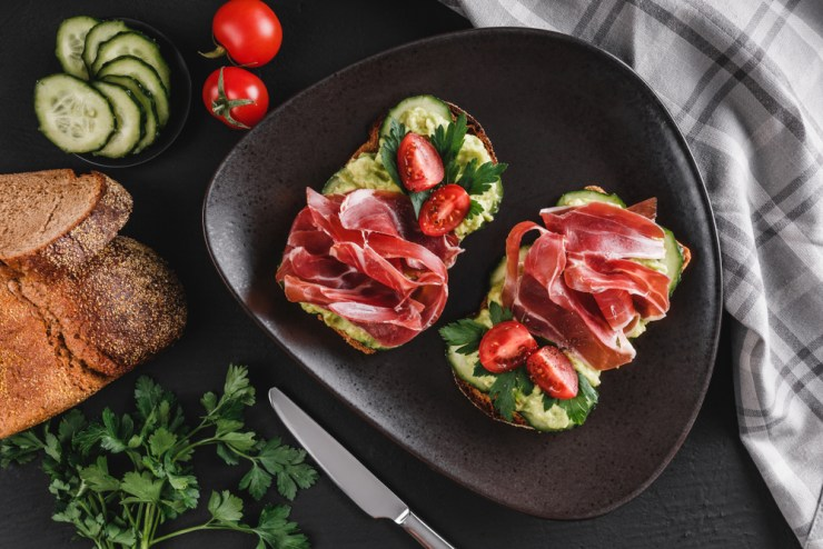 Smashed White Bean, Avocado and Salted Pork Sandwiches | No Cook Meals for Surviving the Pandemic and Food Supply Shortages