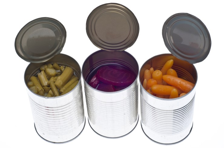 Canned Vegetables | Healthy Non-perishable Food Items