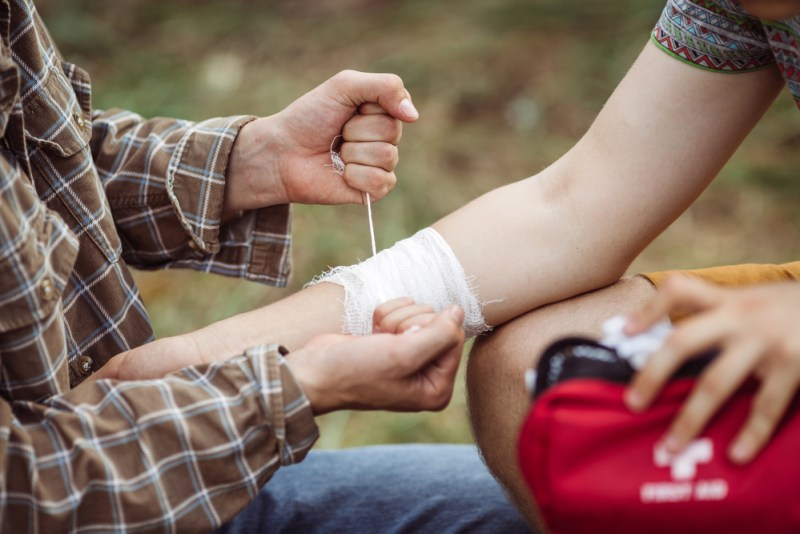 Don't Forget Your First Aid Kit | Tips to Make Camping with Kids Hassle-Free