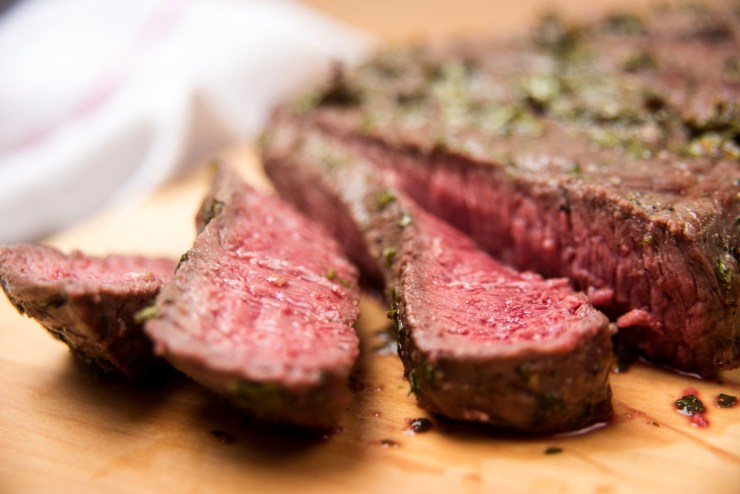 Garlic Seared Elk Backstrap | Elk Recipes