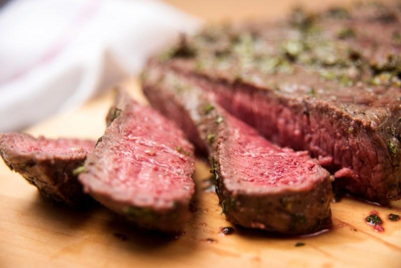 Garlic Seared Elk Backstrap | Elk Recipes