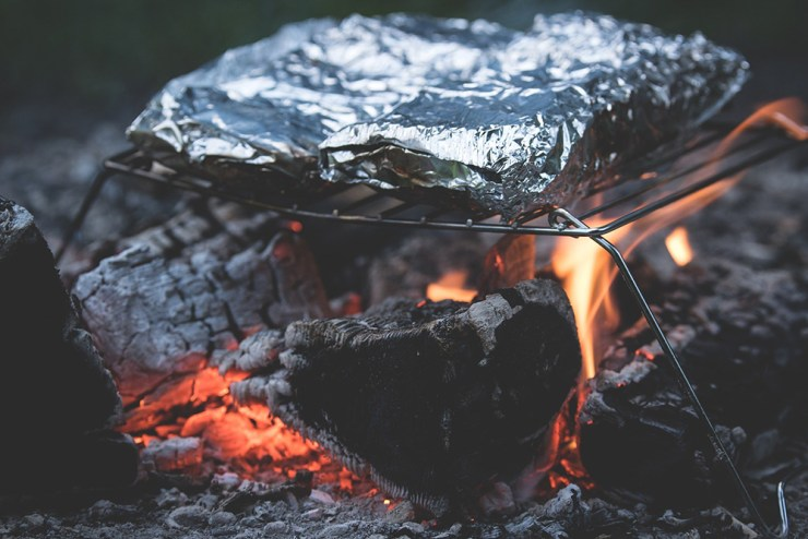 Fires & Food | Stealth Camping Tips