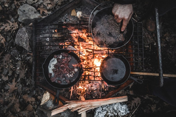 Cooking | How to Setup a Survival/ Hunting Camp