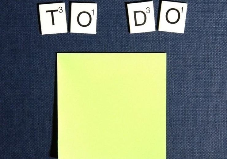 Postit scrabble to do | Christmas Survival Guide | How to Survive Christmas