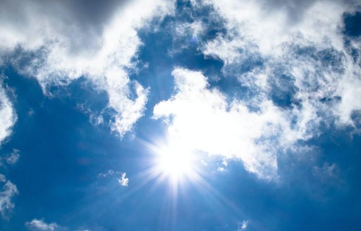 air atmosphere blue blue sky | how to melt snow