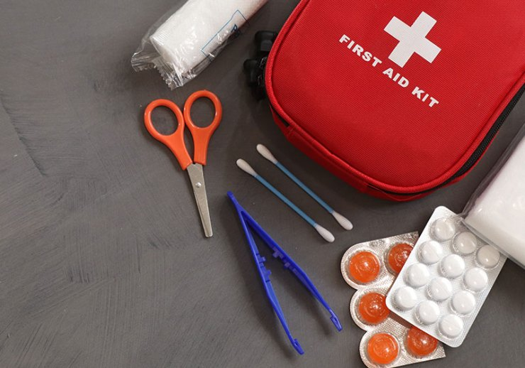 first aid kit | backpacking checklist