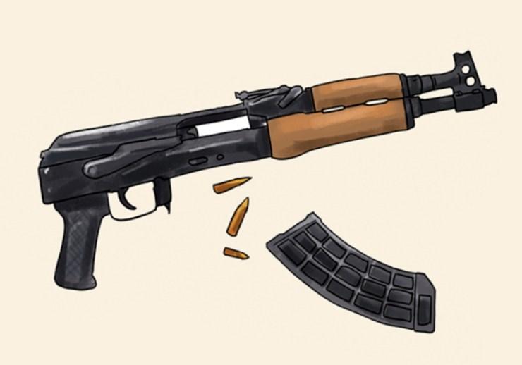 unload your gun | bore snake | orig