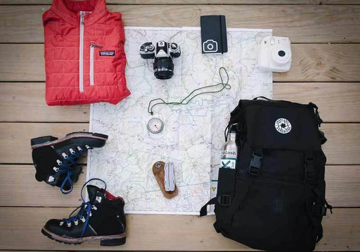 camping items | multi day hike packing list