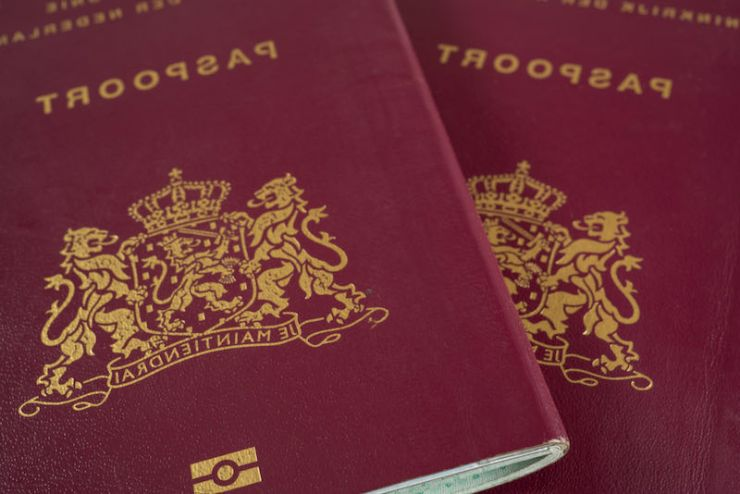 Two Dutch passports close up | Emergency bag checklist