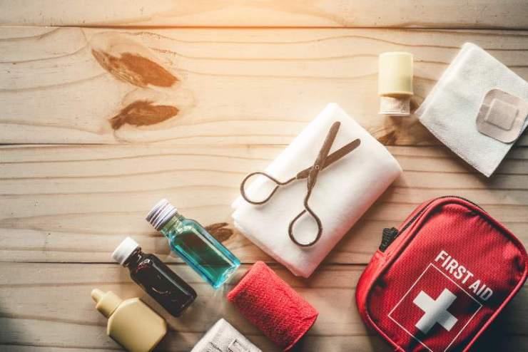 first aid kit bag-IFAK