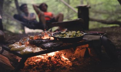 Cooking In Nature | How To Survive Without Electricity | Featured