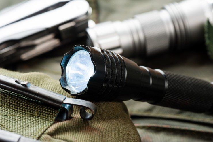 pocket flashlight for Everyday Carry (EDC)-Medical Supplies