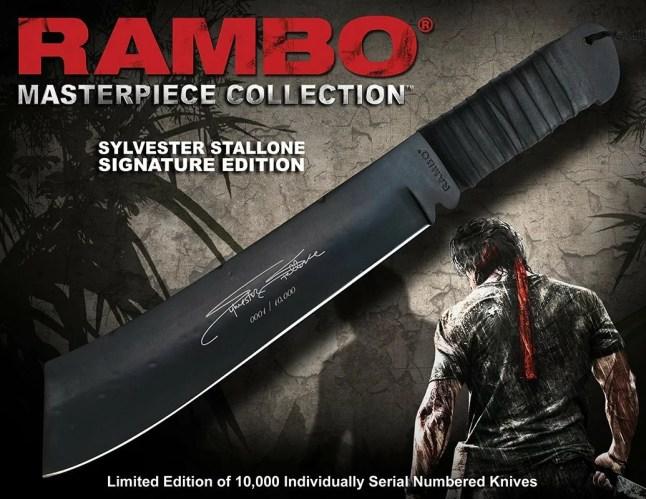 Rambo 4 offiziell lizenziertes messer