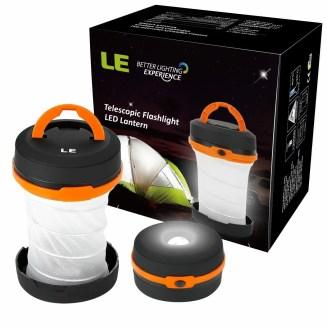 faltbare LE LED Camping Laterne