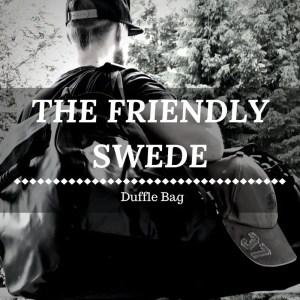 The Friendly Swede Duffle Bag - Wasserfest und vielseitig
