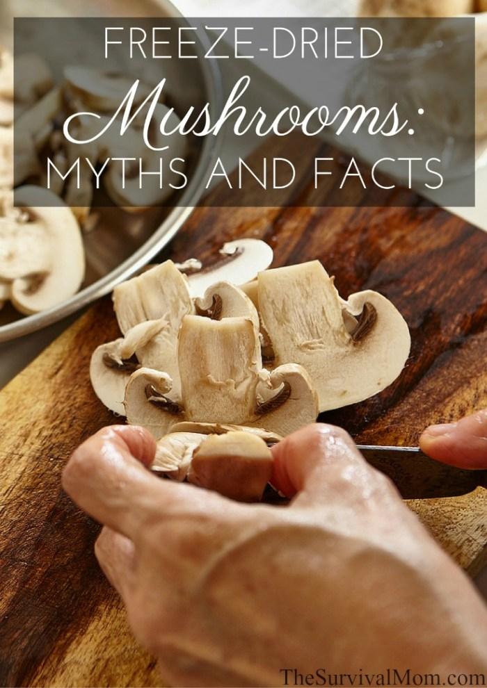 freeze dried mushrooms
