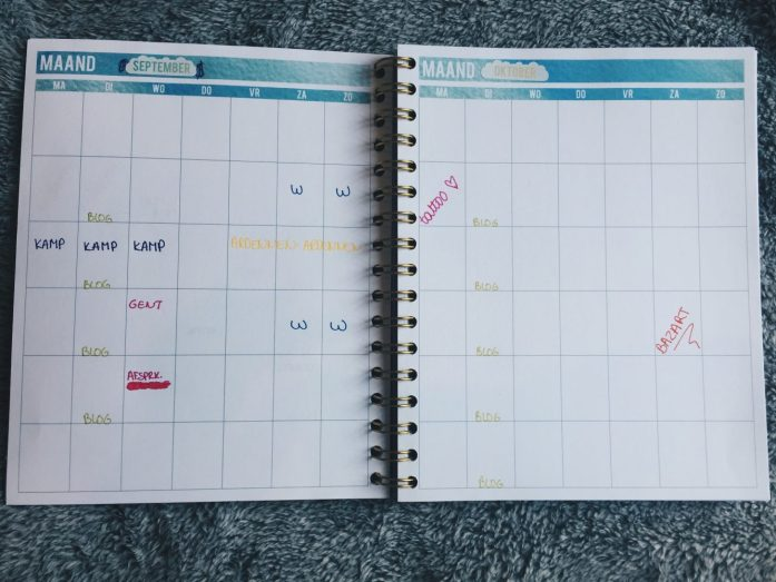 maandplanner