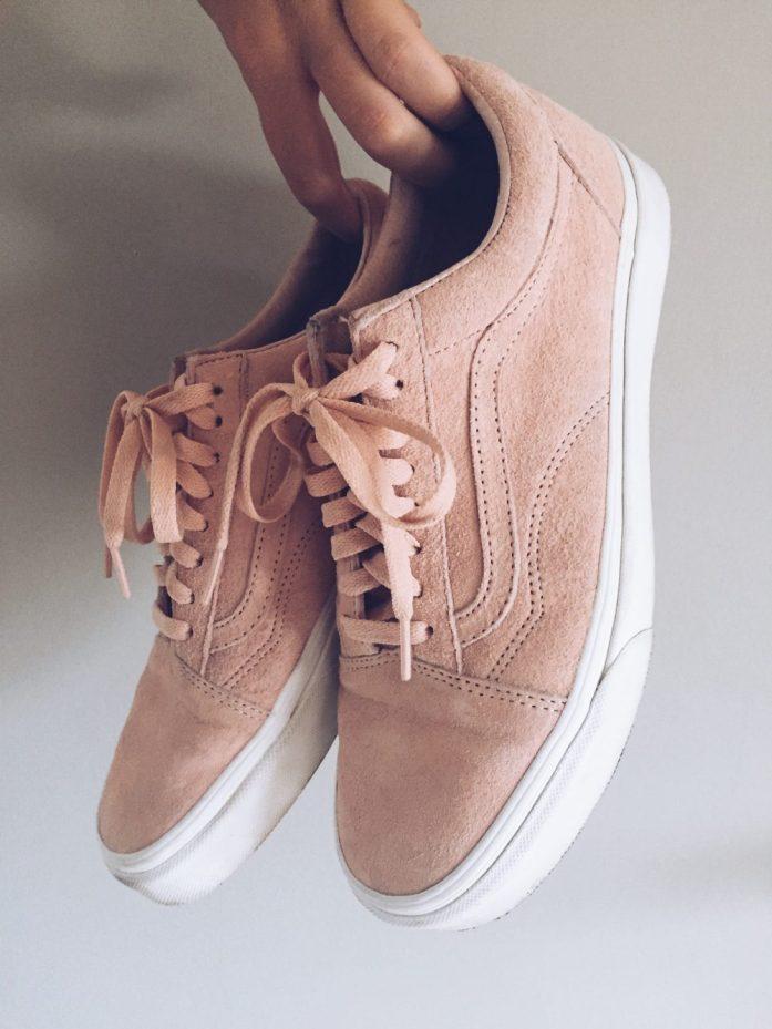 vans low pink